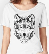 Wolf Black 2 Women's Relaxed Fit T-Shirt