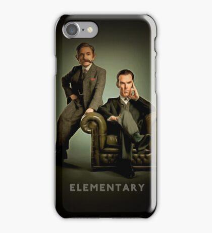 19th Century Sherlock and Watson iPhone Case/Skin