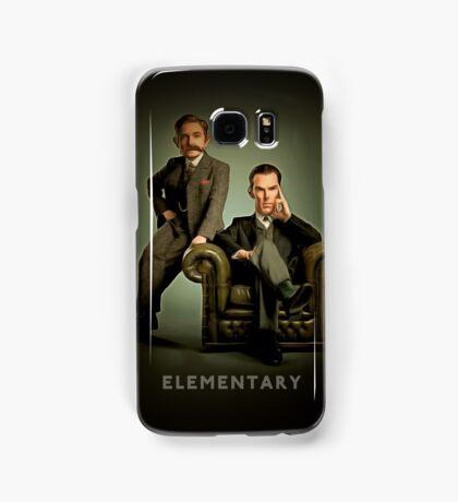 19th Century Sherlock and Watson Samsung Galaxy Case/Skin
