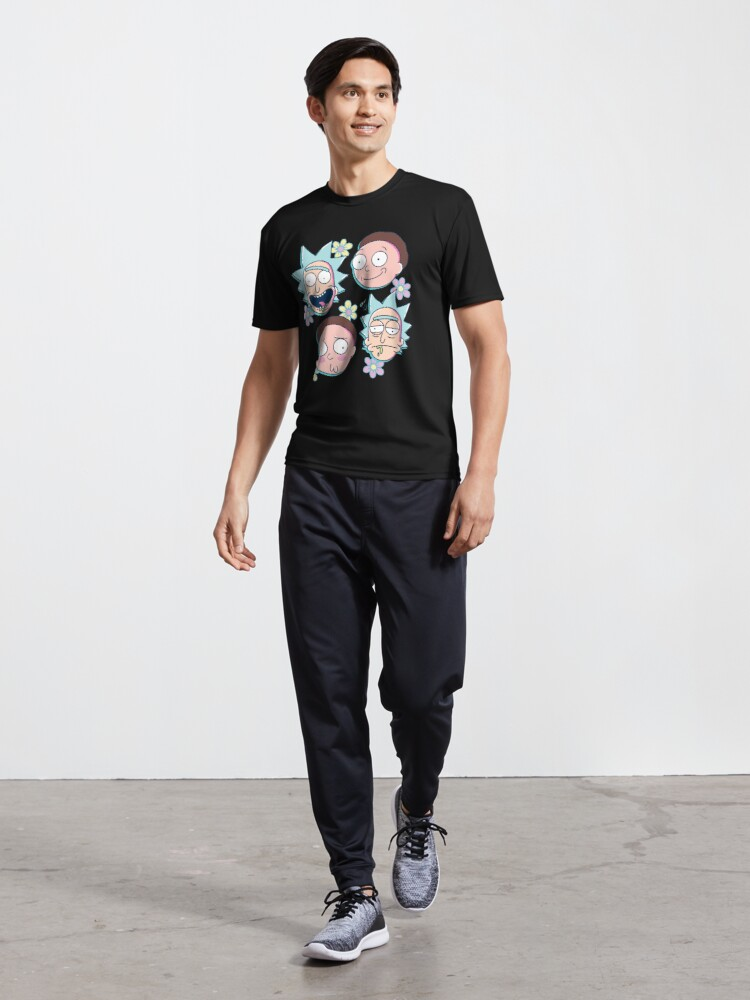 Alternate view of Rick & Morty Active T-Shirt