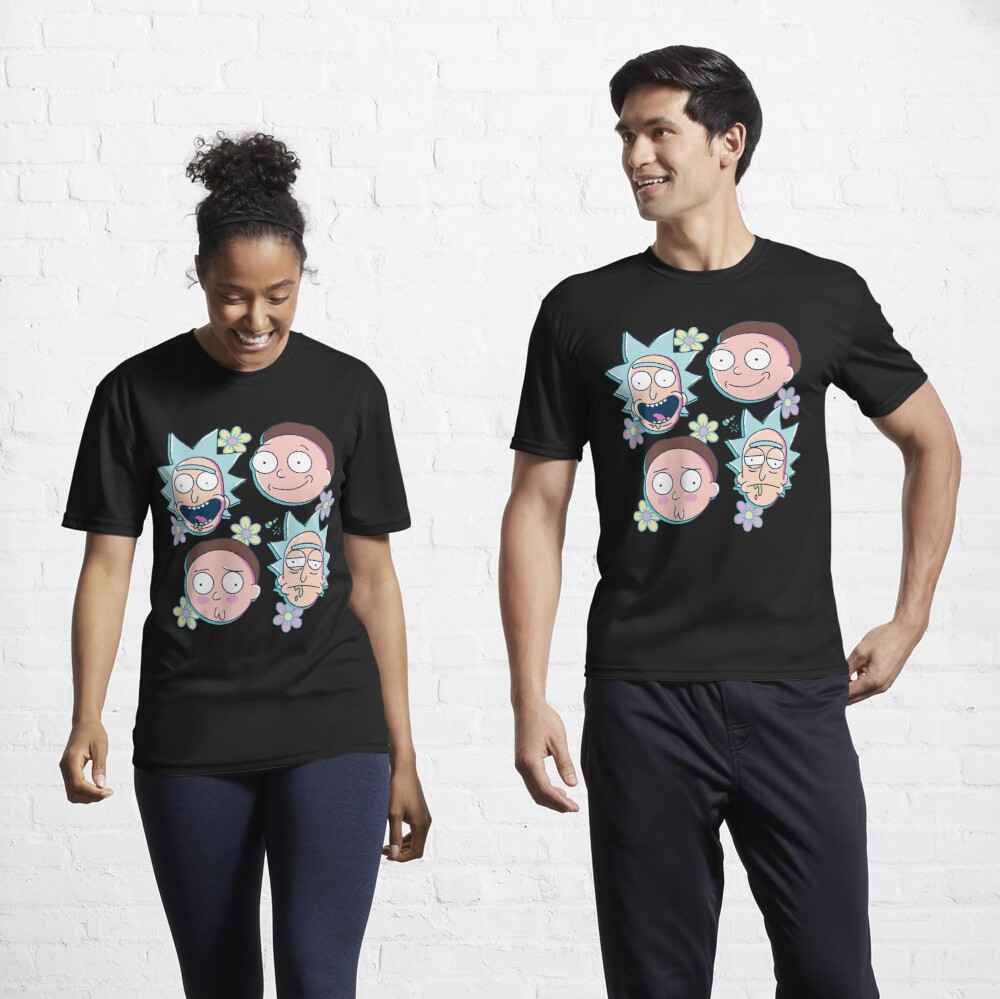 Rick & Morty Active T-Shirt