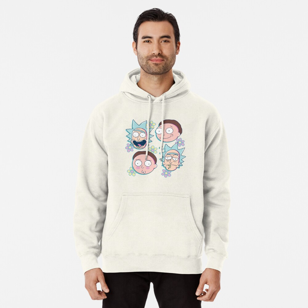 Rick & Morty Pullover Hoodie