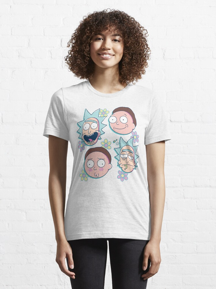 Alternate view of Rick & Morty Essential T-Shirt