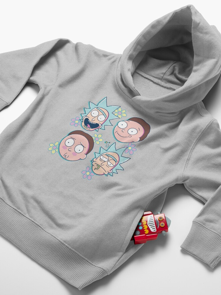 Alternate view of Rick & Morty Toddler Pullover Hoodie