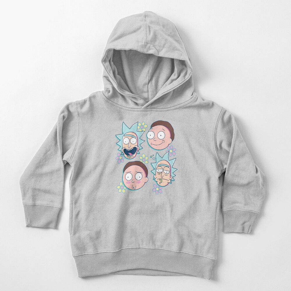 Rick & Morty Toddler Pullover Hoodie