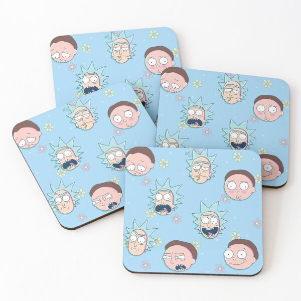 Rick & Morty Coasters (Set of 4)