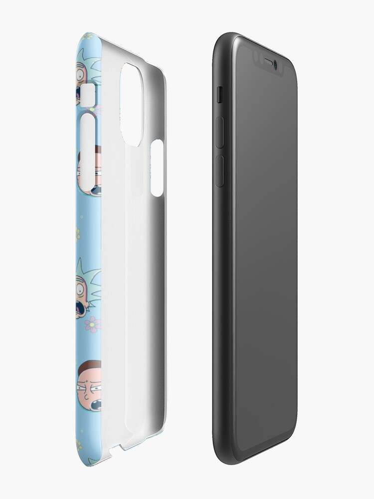 Alternate view of Rick & Morty iPhone Case & Cover