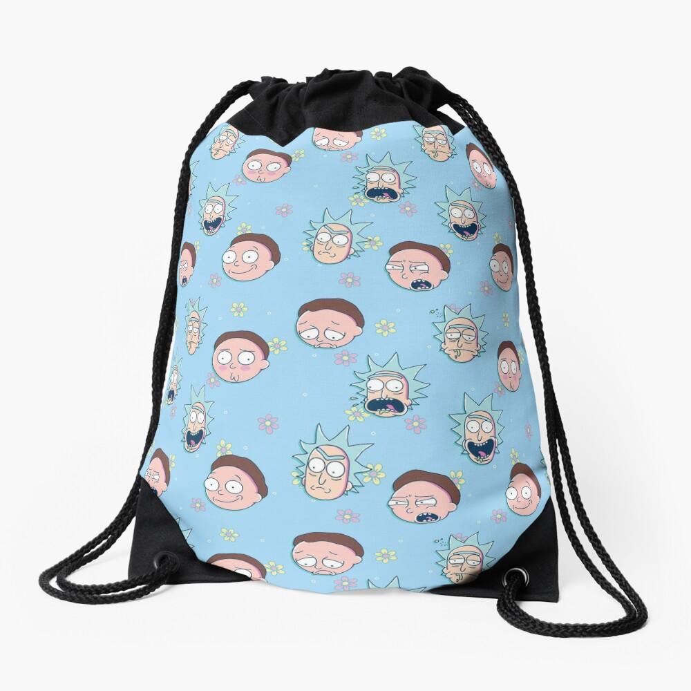 Rick & Morty Drawstring Bag