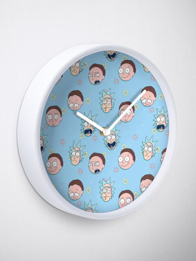 Alternate view of Rick & Morty Clock
