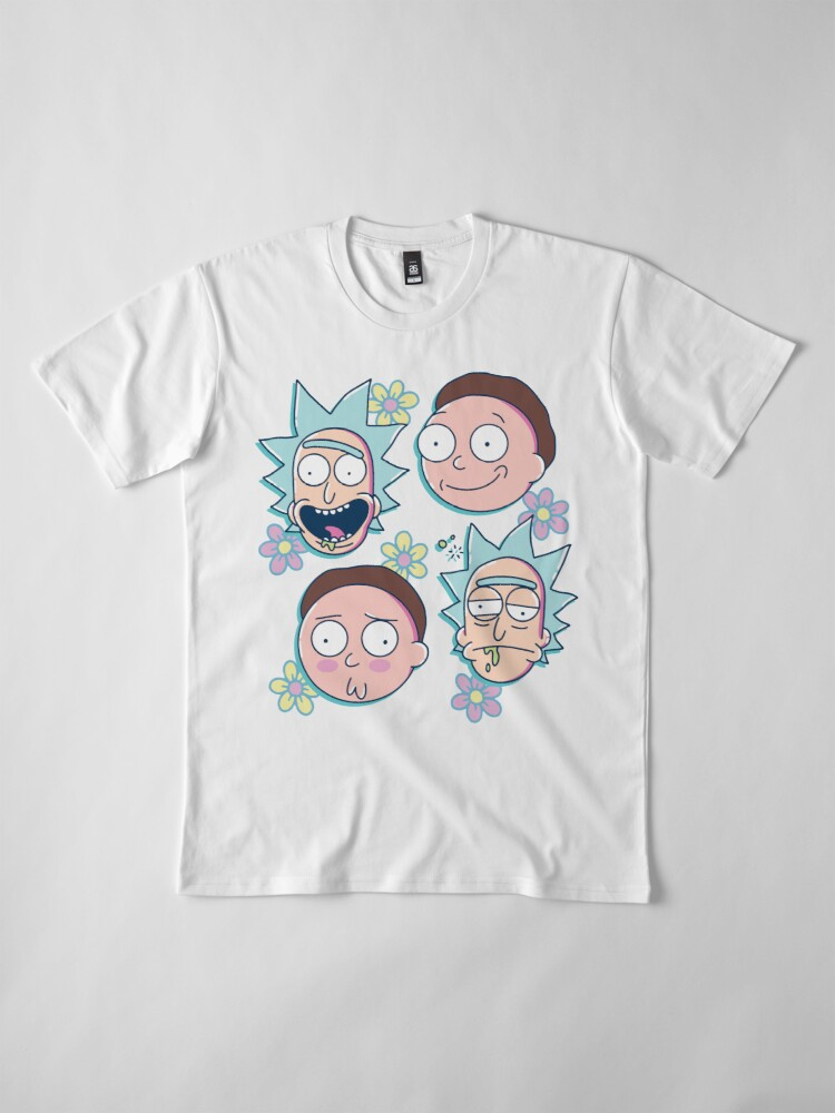 Alternate view of Rick & Morty Premium T-Shirt