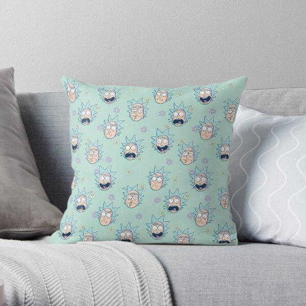 Rick Sanchez (Rick & Morty) Throw Pillow