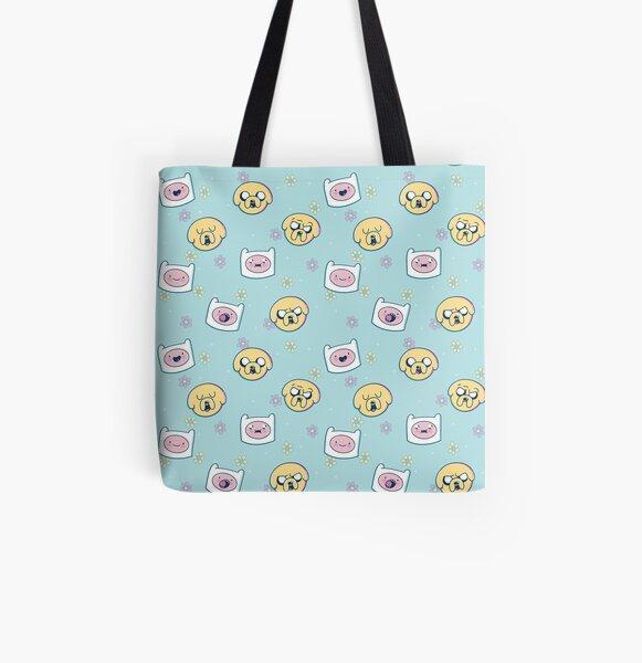 Finn & Jake (Adventure Time) All Over Print Tote Bag