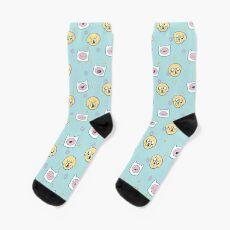 Finn & Jake (Adventure Time) Socks
