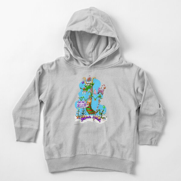 Do You Believe? Toddler Pullover Hoodie