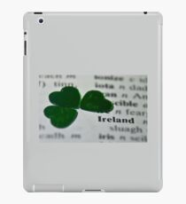 ♥ book series: Ireland  iPad Case/Skin