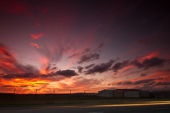 Archerfield Sunset by Matt  Williams