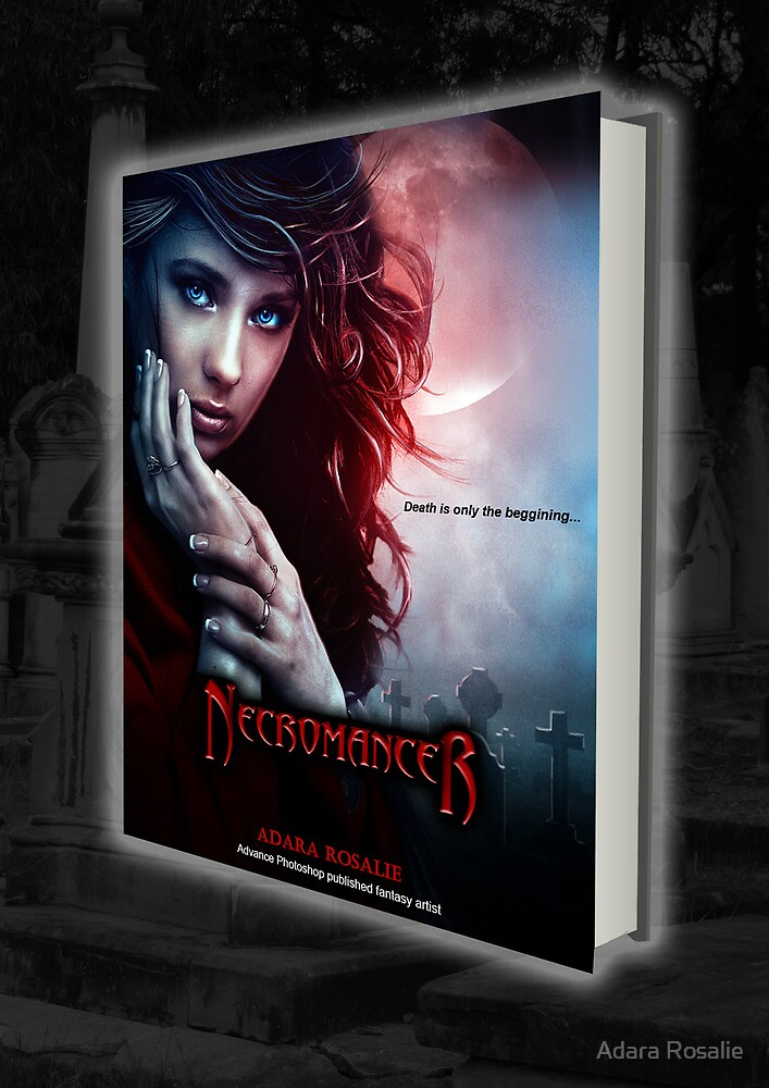 Necromancer Book Cover Design by Adara Rosalie