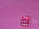 Pink Dice by Denise Abé
