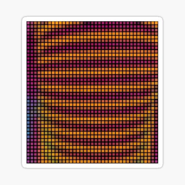 SQUARE RIBS Sticker