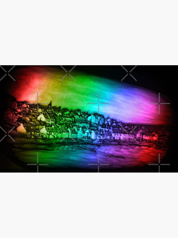 Rainbow Pittenweem from Pumpkin Carving by MotiBlack