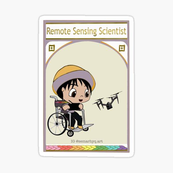 Remote Sensing Scientist Sticker