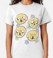 Camiseta clásica Jake The Dog (Hora de aventura)