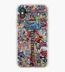 Vinilo o funda para iPhone Thor Superhero Comic Iphone Case