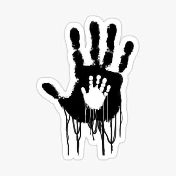Death Stranding BB Hand Logo Sticker