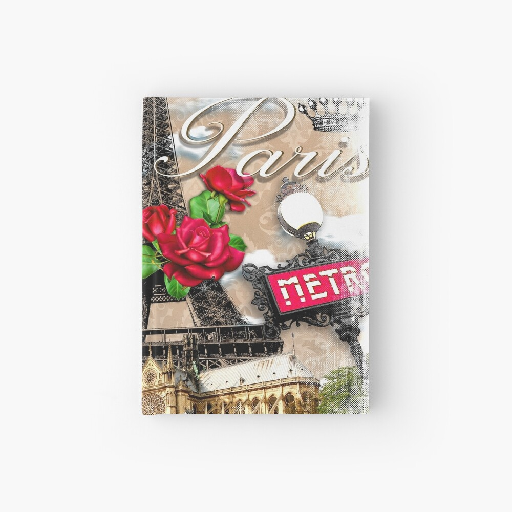 Paris Scenery  Hardcover Journal