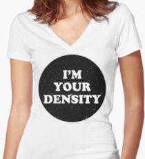 density Women's Fitted V-Neck T-Shirt