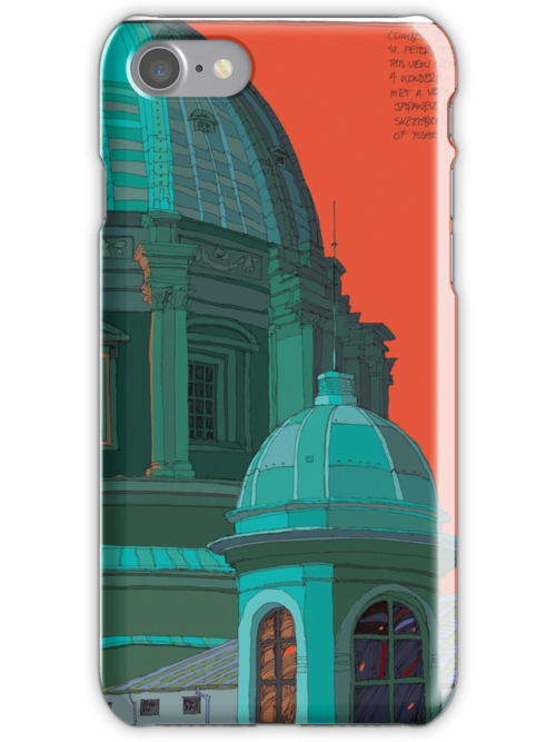 St Peters red and green by David  Kennett