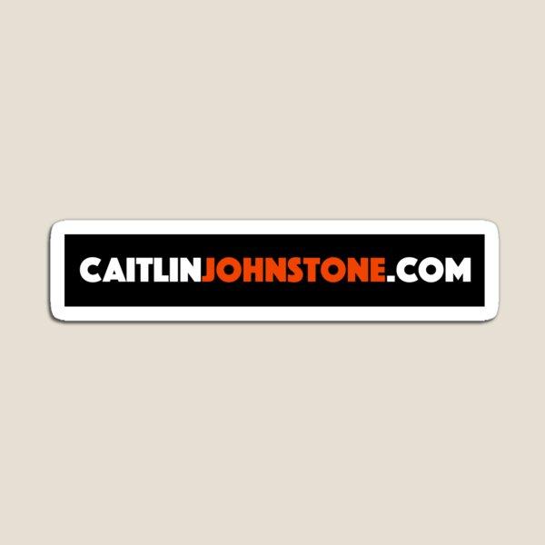 CaitlinJohnstone.com Aufkleber Magnet
