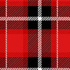 Red + Black Plaid by latheandquill