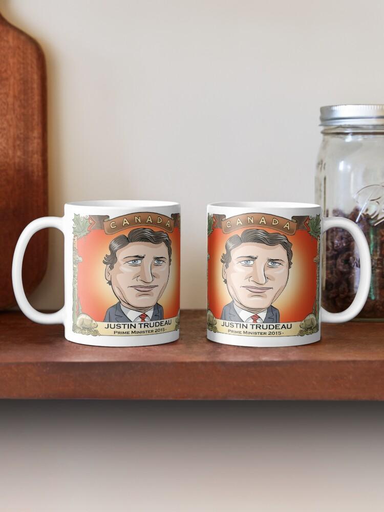 Alternate view of Justin Trudeau Mug