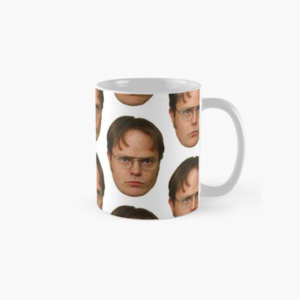 Belle tête de Dwight Schrute Mug classique