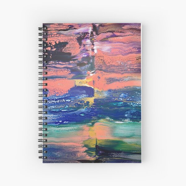 A Double Edged Sword Spiral Notebook