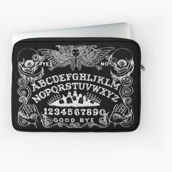 black witch board Laptop Sleeve