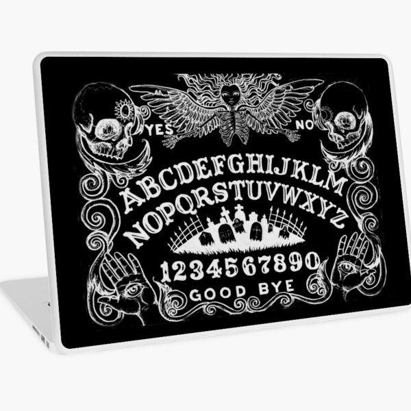 black witch board Laptop Skin
