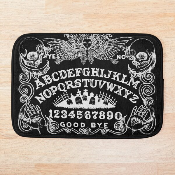 black witch board Bath Mat