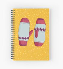 Christmas Mitts Spiral Notebook