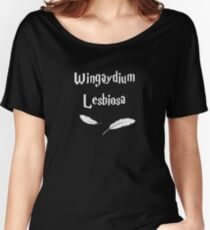 Wingaydium Lesbiosa Women's Relaxed Fit T-Shirt