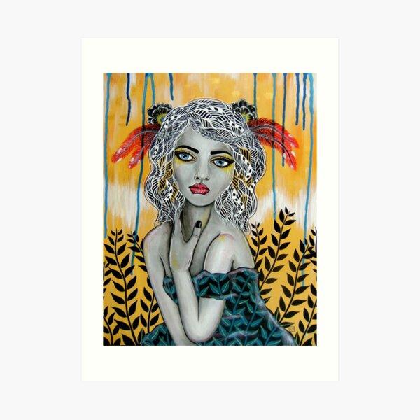 Korina Art Print