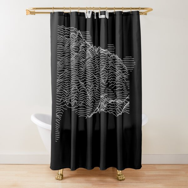 Unknown Elevations - Wyandotte County (WYCO), Kansas Shower Curtain