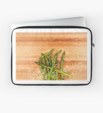 Grilled asparagus and parmesan cheese. Laptop Sleeve