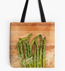 Grilled asparagus and parmesan cheese Tote Bag