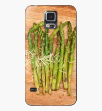 Grilled asparagus and parmesan cheese Case/Skin for Samsung Galaxy