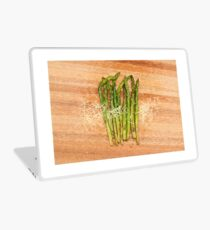 Grilled asparagus and parmesan cheese Laptop Skin