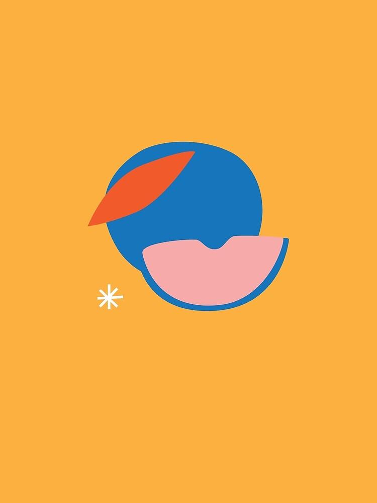 Peachy by esztersletters