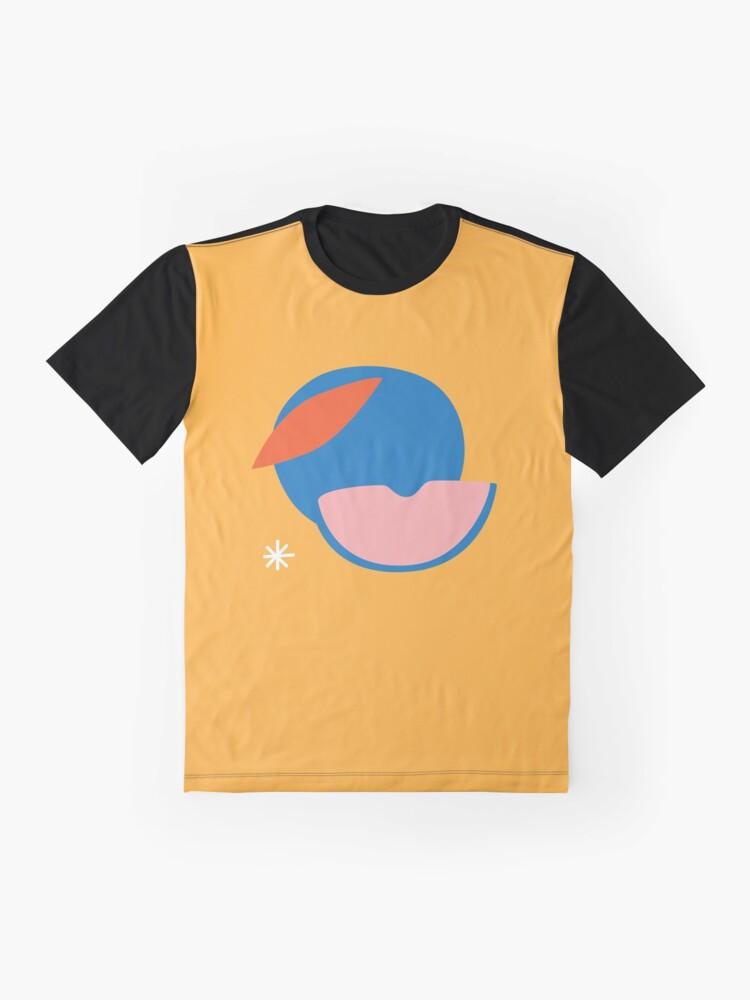 Alternate view of Peachy Graphic T-Shirt