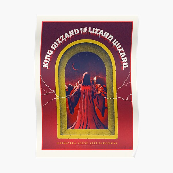 king gizzard and the lizard wizard art Poster